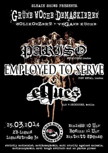 PARISO, EMPLOYED TO SERVE, EQUES