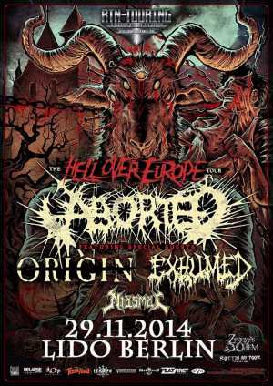 ABORTED, EXHUMED, MIASMAL, ORIGIN