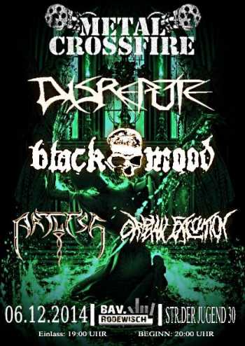DISREPUTE, BLACK MOOD, ARTLESS, ORPHAN EXECUTION