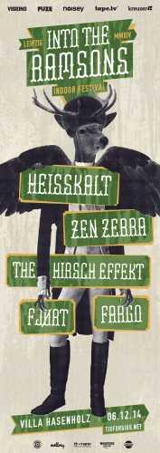 HEISSKALT, ZEN ZEBRA, FJORT, THE HIRSCH EFFEKT, FARGO