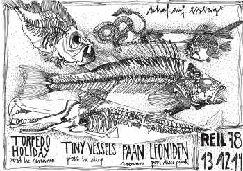 PAAN , TORPEDO HOLIDAY, LEONIDEN, TINY VESSELS