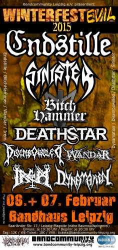 SINISTER, DEATHSTAR, DISEMBOWLED, DYNAMATION