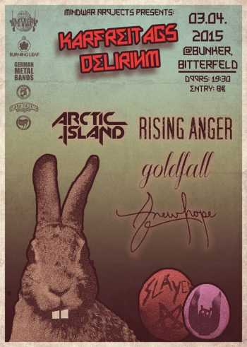 ARCTIC ISLAND, RISING ANGER, GOLDFALL, ANEWHOPE