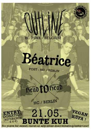 OUTLINE, BEATRICE, HEAD TO HEAD