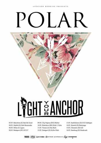 POLAR, LIGHT YOUR ANCHOR, RISING ANGER, DRIVE