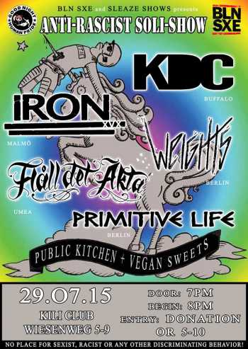IRON, KDC, PRIMITIVE LIFE, WEIGHTS, HALL DET ÄKTA,