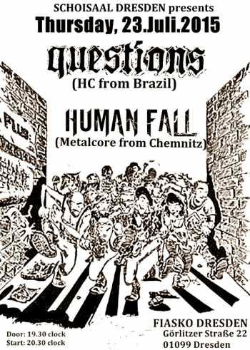 QUESTIONS, HUMAN FALL