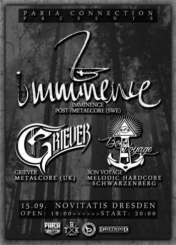 IMMINENCE, GRIEVER, BON VOYAGE