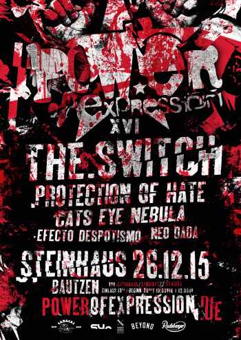 THE.SWITCH, PROTECTION OF HATE, CATS EYE NEBULA, EFECTO DESPOTISMO, NEO DADA