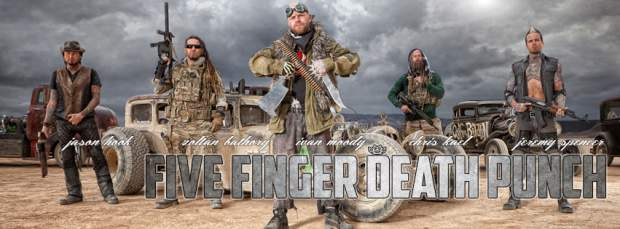 FIVE FINGER DEATH PUNCH | image: https://www.facebook.com/fivefingerdeathpunch