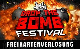 DROP THE BOMB INDOOR FESTIVAL 2014 FREIKARTENVERLOSUNG