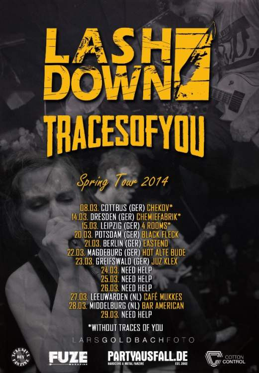 lashdown, traces of you