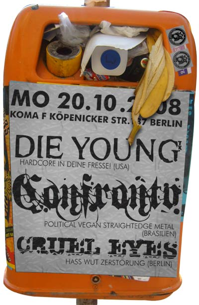 CONFRONTO, DIE YOUNG, CRUEL EYES