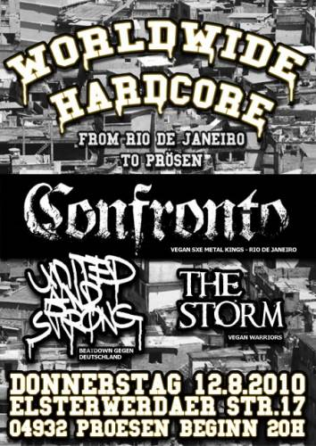 CONFRONTO, UNITED AND STRONG, THE STORM