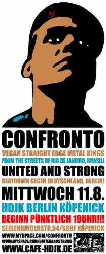 CONFRONTO, UNITED AND STRONG