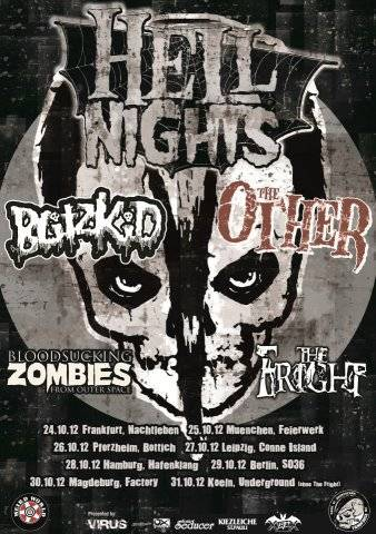 BLITZKID, THE OTHER, BLOODSUCKING ZOMBIES FROM OUTER SPACE, THE FRIGHT