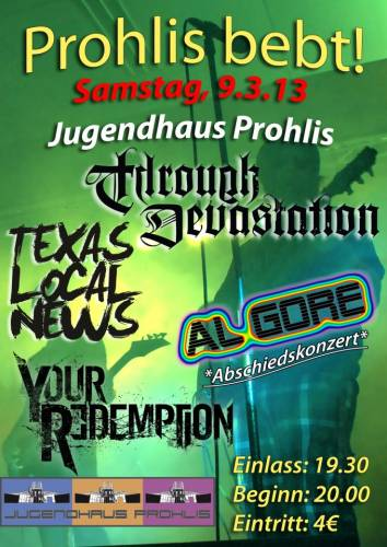 THROUGH DEVASTATION, TEXAS LOCAL NEWS, AL GORE, YOUR REDEMPTION