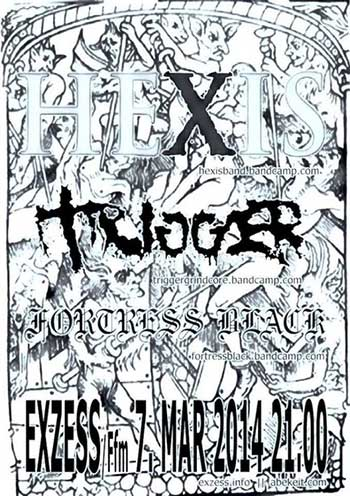 HEXIS, TRIGGER, FORTRESS BLACK