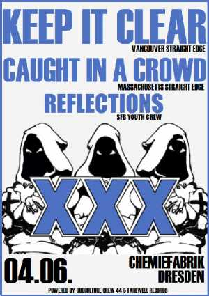 KEEP IT CLEAR, CAUGHT IN A CROWD, REFLECTIONS