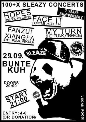MY TURN, HOPES, FACE IT!, FANZUI XIANGFA