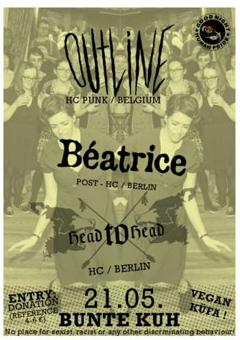 OUTLINE, BEATRICE, HEAD TO HEAD