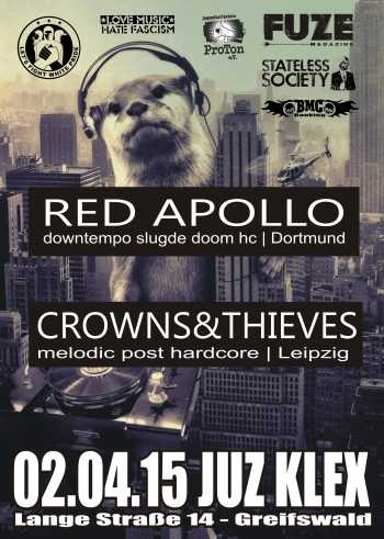 RED APOLLO, CROWNS & THIEVES