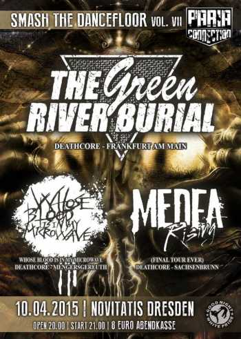 THE GREEN RIVER BURIAL, MEDEA RISING, WHOSE BLOOD IS IN MY MICROWAVE