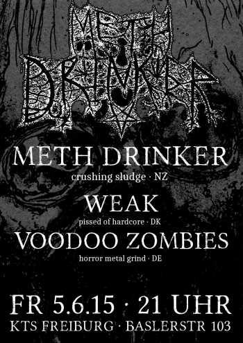 METH DRINKER, WEAK, VOODOO ZOMBIES