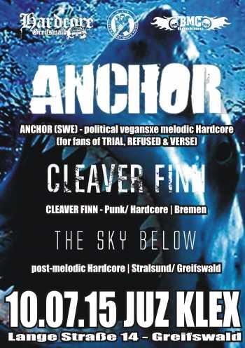 ANCHOR, CLEAVER FINN, THE SKY BELOW