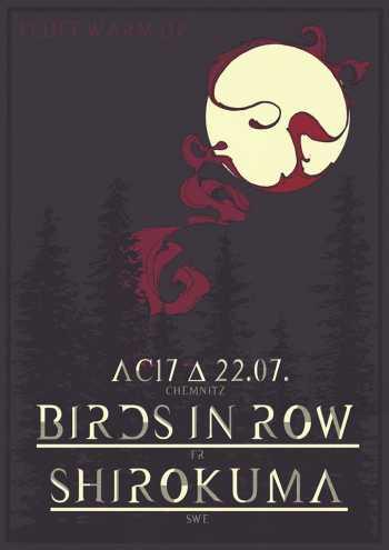 BIRDS IN ROW, SHIROKUMA