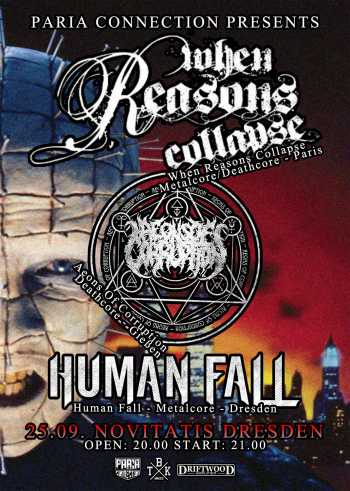 WHEN REASONS COLLAPSE, AEONS OF CORRUPTION, HUMAN FALL