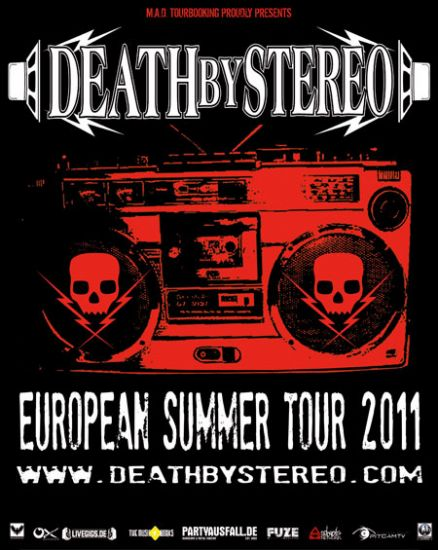 MAD Tourbooking, Death By Stereo